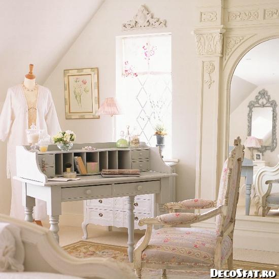 Dormitor în stil francez - 004- detaliu