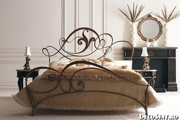 Dormitor din fier forjat-005