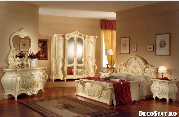 Dormitor în stil francez - 001