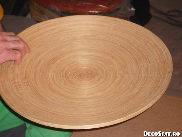 Platoul din lemn