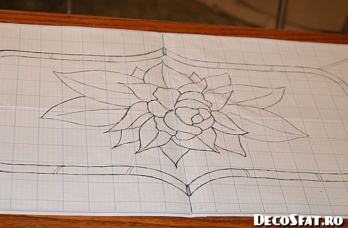 Vitraliu desen