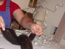 61-130x98 Decoraţie argintie